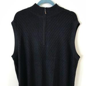 Men's Ashworth Golf Sweater Vest, L
